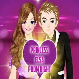 My Princess Elsa At Prom Night